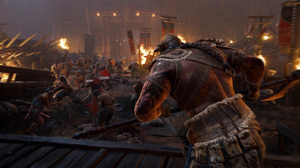 Taistelupeli For Honor tuo mystisen soturihahmon keskelle selviytymistaistelua